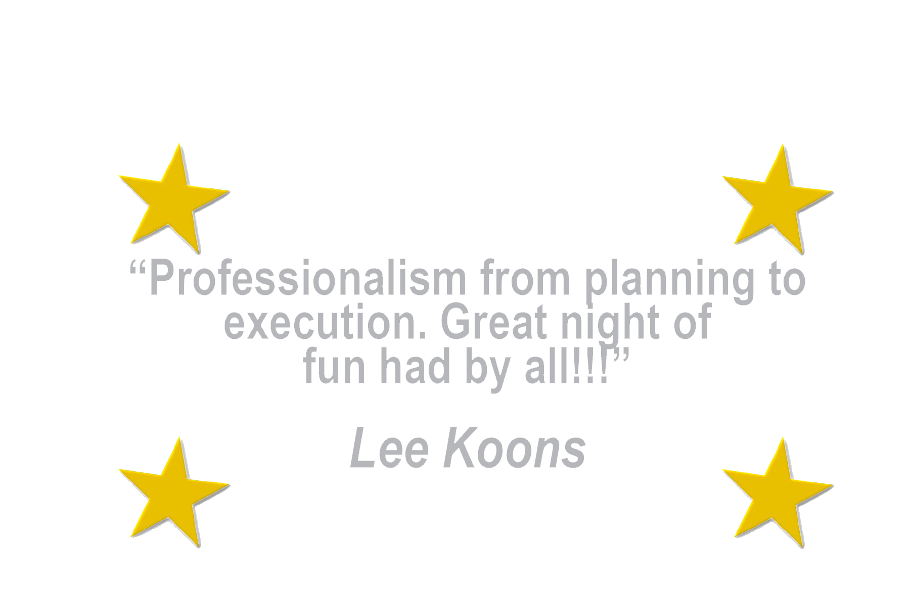 4 - Star Quotes CCs - Lee Koons