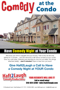Comedy at the Condo - POSTER